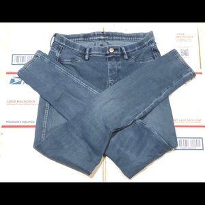 Uniqlo Small 26-27 Blue Jeans Skinny Legging